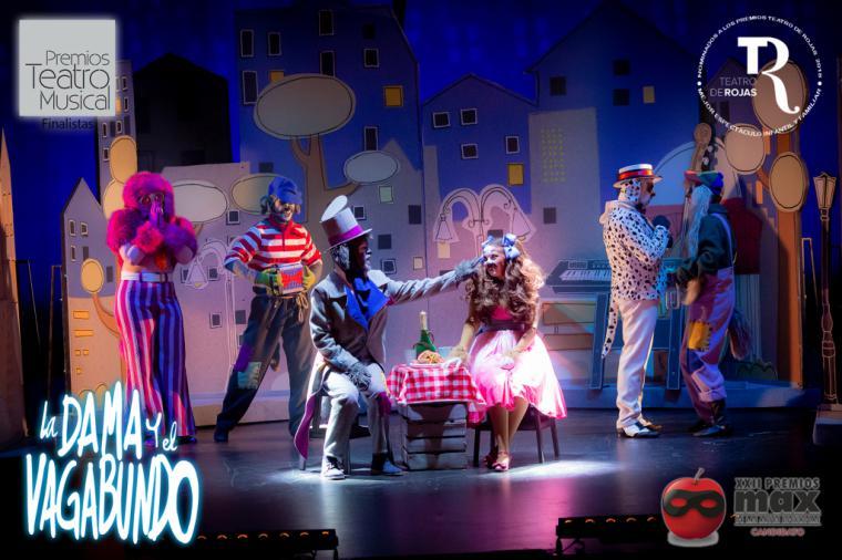 """El musical """"La Dama y el Vagabundo"""" nominado en 15 categorías en los aclamados Premios del Público BroadwayWorld Spain 2019"""