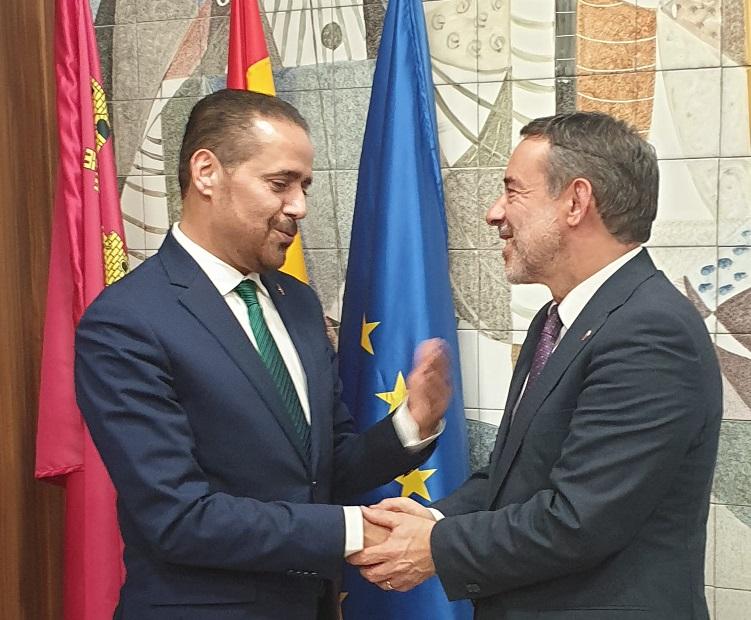 El cónsul de Marruecos agradece a Jiménez las gestiones realizadas y confirma negociaciones muy avanzadas para la apertura de una línea aérea directa desde Corvera