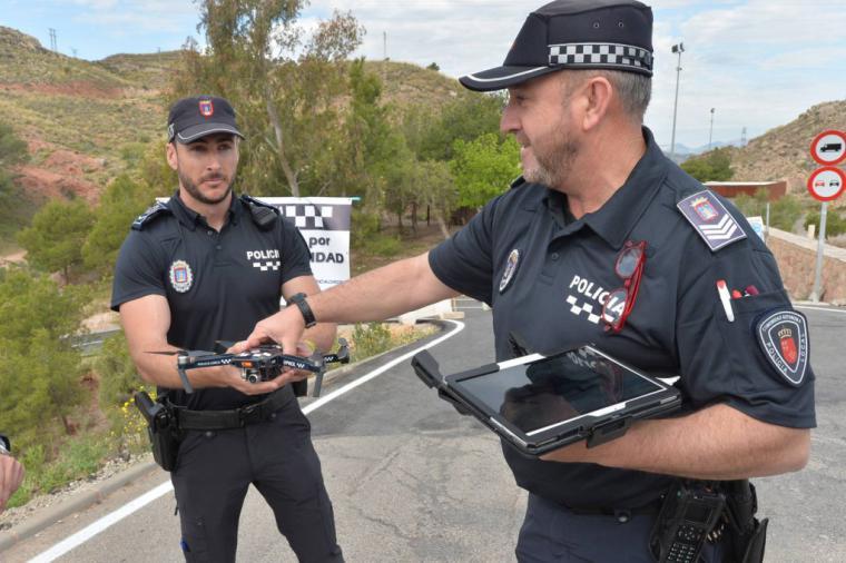 La Policía Local de Lorca detiene al presunto autor del robo con violencia de una bicicleta que fue recuperada por los agentes