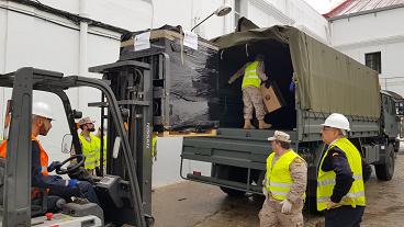 Operación BALMIS: La Armada apoya con personal y material en la lucha contra la propagación del COVID-19