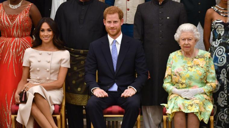 Enrique y Meghan dejan de ser Altezas Reales