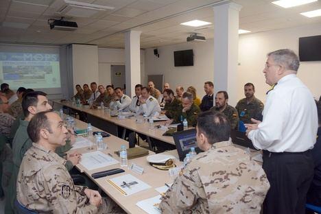 I Seminario de Operaciones Permanentes del Mando de Operaciones en el Cuartel General de la Fuerza de Acción Marítima