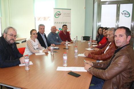 CSIF plantea las principales deficiencias de la sanidad pública almeriense al delegado de Salud y Familia