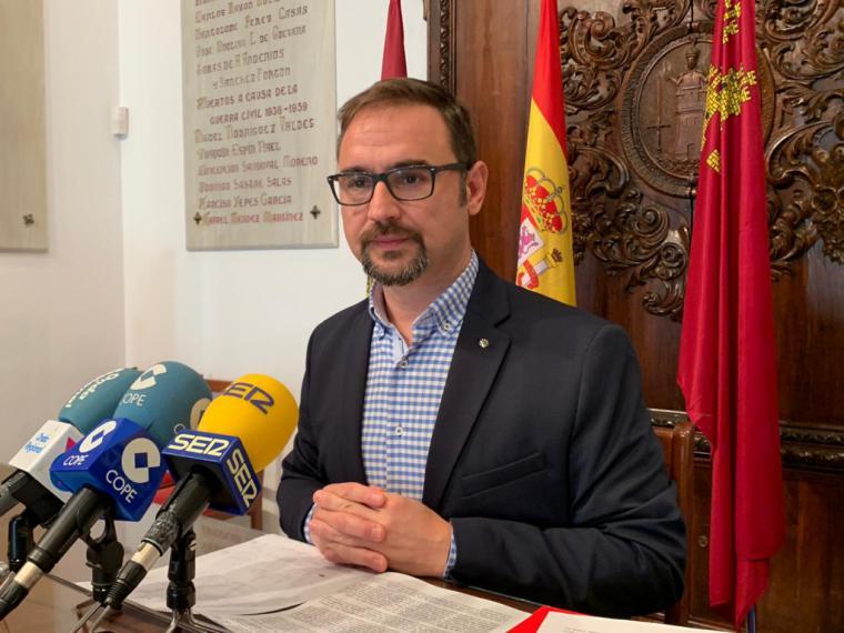 """Diego José Mateos: """"Los lorquinos no merecen perder la oportunidad histórica de terminar la Ronda y el Auditorio por la desastrosa planificación de las obras"""""""