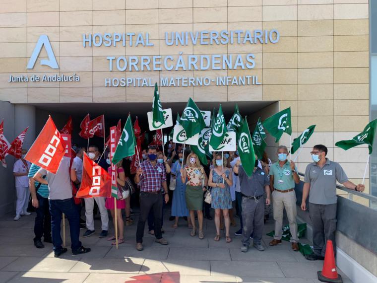 Más de 4.000 trabajadores de la sanidad almeriense se verán perjudicados sin la carrera profesional según CSIF