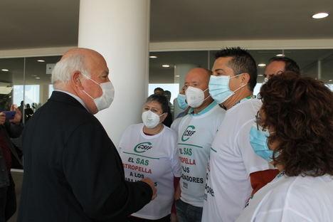 El consejero de Salud reconoce ante CSIF el error de la Orden que elimina los derechos de los trabajadores y trabajadoras del SAS y se compromete a negociar