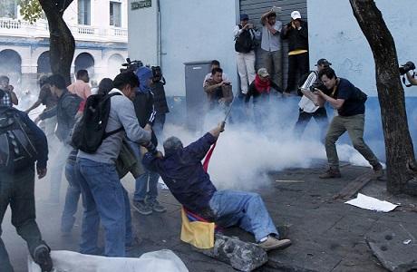 Ecuador vive otro día de violencia