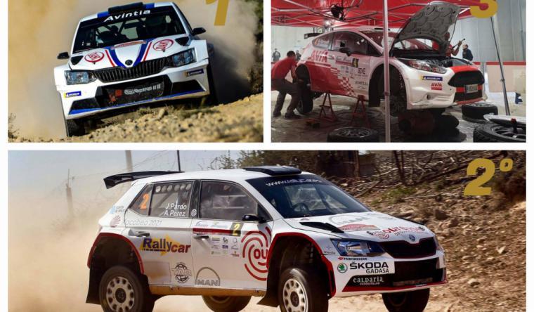 El Rallye Tierras Altas de Lorca arranca con el proyecto MotorSolidario 2020 que comienza con una donación de alimentos para Cáritas