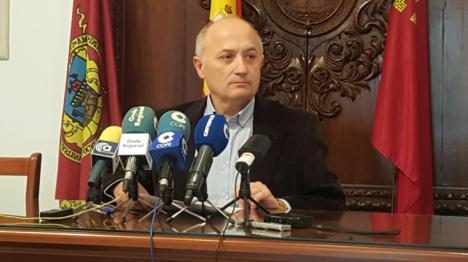 La moción de reprobación contra Antonio Meca la acordó dirigentes de Ciudadanos, el Partido Popular de Lorca e Izquierda Unida