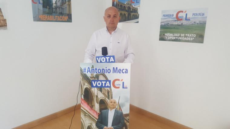 Antonio Meca exige la paralización inmediata del proceso de selección para cubrir la plaza de sargento de la Policía Local de Lorca.