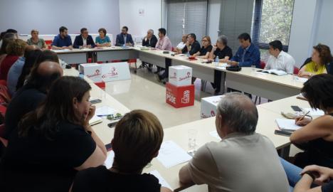 La Ejecutiva del PSRM felicita a los más de 20 alcaldes y alcaldesas socialistas que han formado equipo de Gobierno
