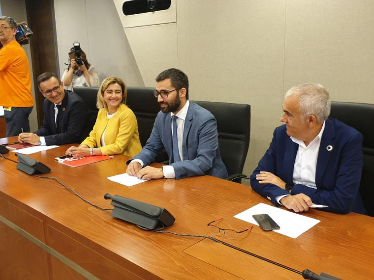 """Diego Conesa: """"Desgraciadamente la Región de Murcia va a ser noticia por tener el primer Gobierno autonómico regido por la extrema derecha"""""""