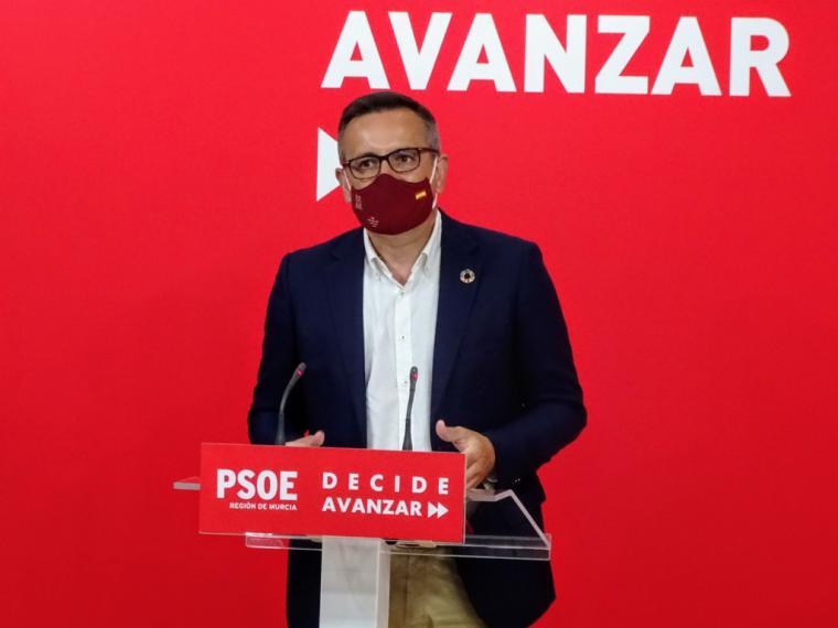 """Diego Conesa: """"Pedimos al Gobierno regional que comparezca en la Asamblea ante la incertidumbre, la opacidad y la absoluta falta de gestión en la crisis del COVID-19"""""""