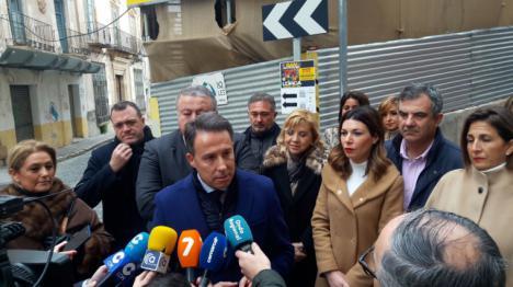 """El PP lorquino lidera una ofensiva parlamentaria exigiendo que el Gobierno central asuma como """"irrevocable"""" construir el Palacio de Justicia en el casco histórico"""