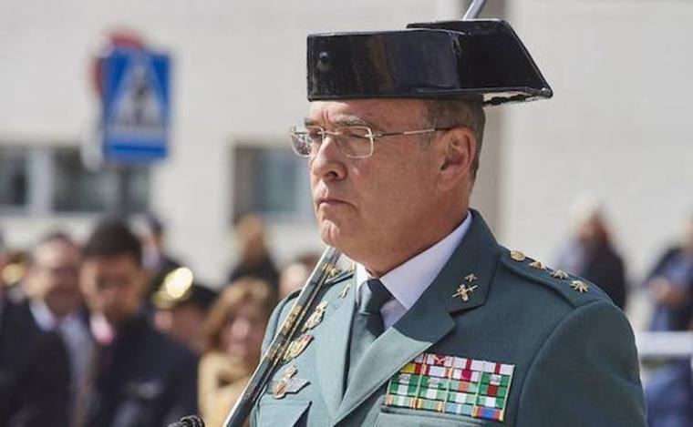 El coronel Diego Pérez de los Cobos destituido por ' falta de confianza'