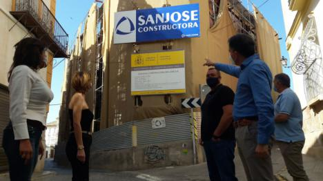 """Fulgencio Gil: """"hoy ya estaría funcionando el nuevo Palacio de Justicia, pero por culpa del PSOE seguimos sufriendo un solar ruinoso, sucio y degradado"""""""