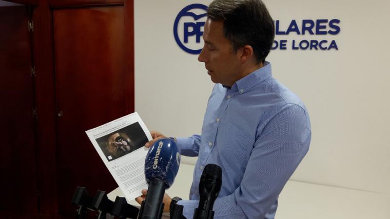 """Fulgencio Gil propone que Lorca active una """"supervisión diaria"""" de las aguas residuales que permita detectar rápidamente posibles rebrotes de COVID-19"""