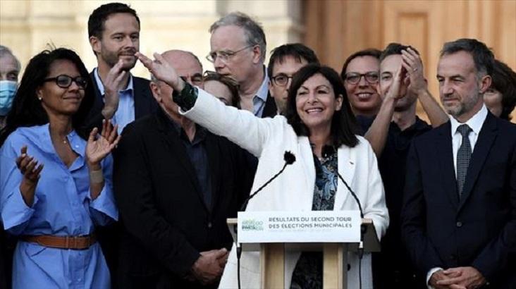 La gaditana Anne Hidalgo, reelegida alcaldesa de París