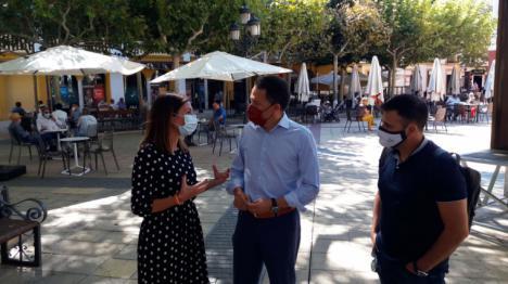 """El PP de Lorca anima a los hosteleros a beneficiarse de la nueva batería de ayudas ante el rotundo fracaso del sistema de """"limosnas"""" impuesto por el actual Alcalde"""