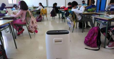 CSIF espera que la Junta tome medidas ahora ante la recomendación del Ministerio de Sanidad para usar purificadores de aire en las aulas