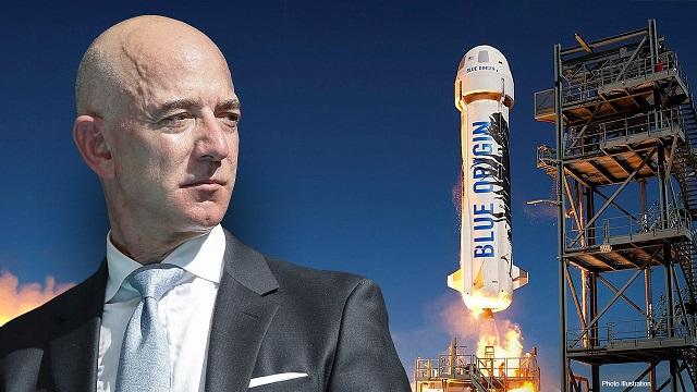 Jeff Bezos cumple su sueño de viajar al espacio