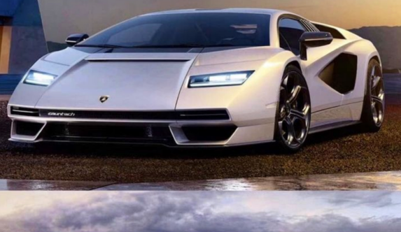 Este es el Lamborghini Countach