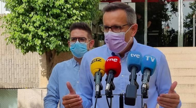 """Diego Conesa: """"He decidido dar un paso al lado, y no optaré a la reelección como secretario general del PSRM"""""""