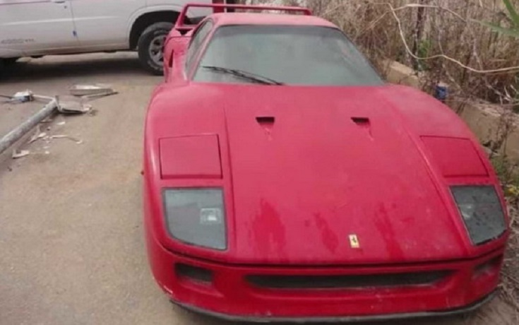 ¿Es este el Ferrari F40 del hijo de Sadam Husein?