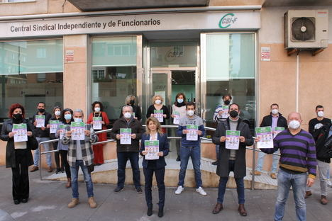 """CSIF celebra el 8M bajo el lema """"El Covid no nos frena"""" y denuncia las situaciones de discriminación, abuso y violencia que sufren las mujeres"""