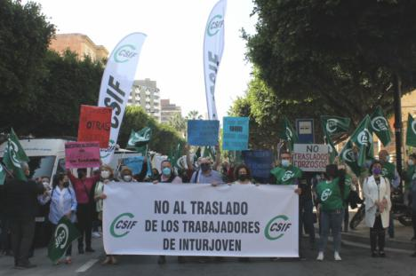 CSIF insta a la Junta de Andalucía a buscar alternativas para no lesionar los derechos laborales de la plantilla de Inturjoven en Almería