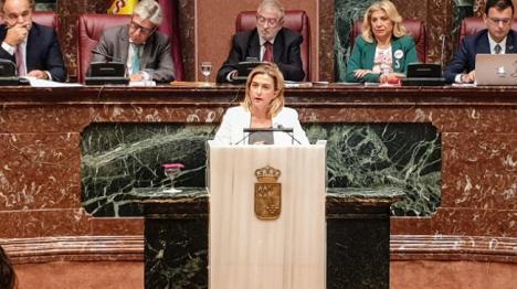 """Carmina Fernández: """"Exigimos al Gobierno regional que firme el convenio que tiene encima de la mesa desde hace un año para el desarrollo de la ZAL"""""""