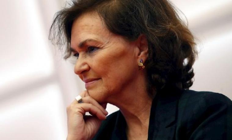 Carmen Calvo supera el coronavirus y se incorpora al trabajo