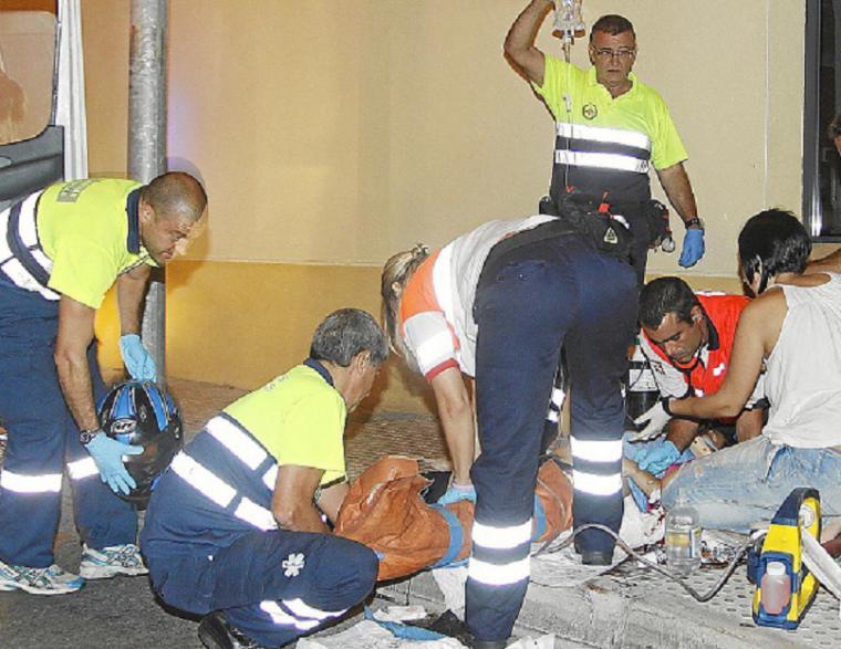 Detenido el conductor que se dio a la fuga después de atropellar a una mujer en Andujar