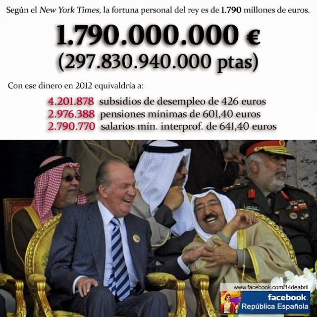 Ada Colau acusa a la monarquía española de 'corrupta' y pide un referéndum