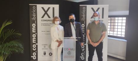 El Colegio de Arquitectos de Murcia conmemora el Día del Colegiado tras la clausura del Congreso DOCOMOMO