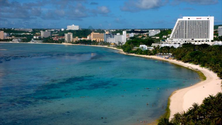 La española isla de Guam