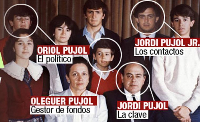 """Pánico a que Jordi Pujol filtre los dossiers elaborados durante años por su servicio de inteligencia, los """"Pata Negra"""", si el clan pisa la cárcel"""