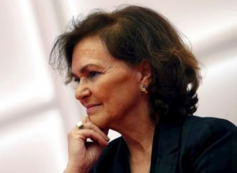Carmen Calvo recibe el alta médica