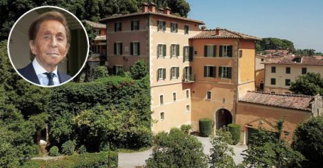 Valentino pone a la venta su villa en la Toscana por 12 millones