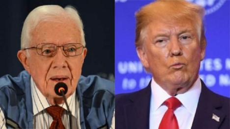 El ex presidente Jimmy Carter pone a caldo a Donald Trump en una carta a la revista Newsweek