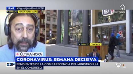 El virólogo García Sastre pide estar preparados y anuncia que habrá una segunda oleada de coronavirus en otoño