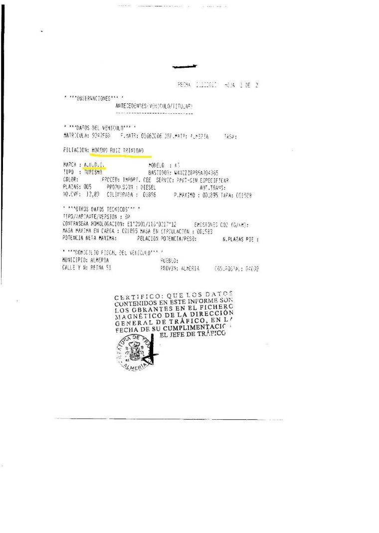 Documento de transferencia