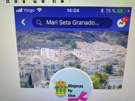 Perfiles falsos de Facebook acosan e insultan al alcaldable del PSOE de Albox Rogelio Mena