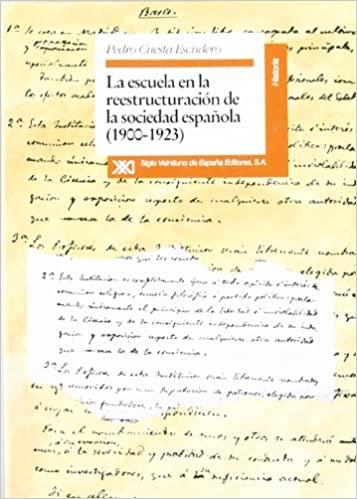 """'Ideario pedagógico de la Institución Libre de Enseñanza', por Pedro Cuesta Escudero, autor de """"La escuela en la reestructuración de la sociedad española (1900-1923)"""""""