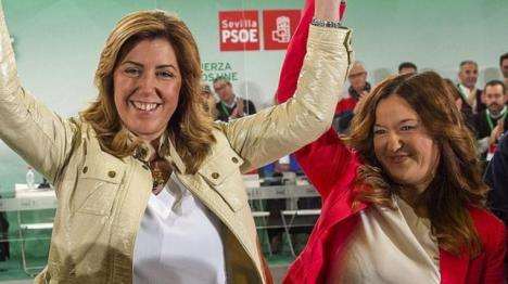 A la sultana, otrora autoridad indiscutible del PSOE de Andalucía empiezan a crecerle los enanos