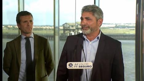Juan José Cortés olvida el nombre de su líder, Pablo Casado y confunde a Pedro Sánchez con Pablo Iglesias