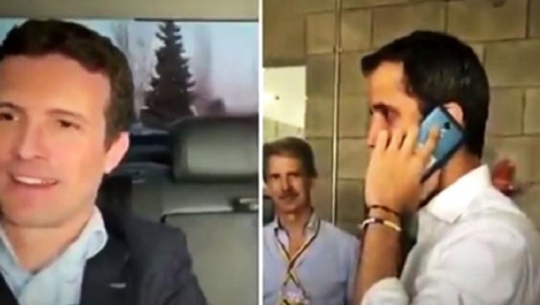 Sánchez obvia a Guaidó que queria honores de presidente y este amenaza con un mitin masivo en Madrid