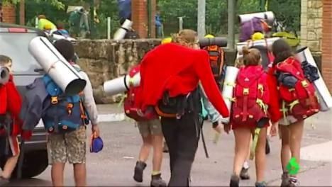 23 menores que participaban en un campamento en los Picos de Europa han tenido que ser evacuados