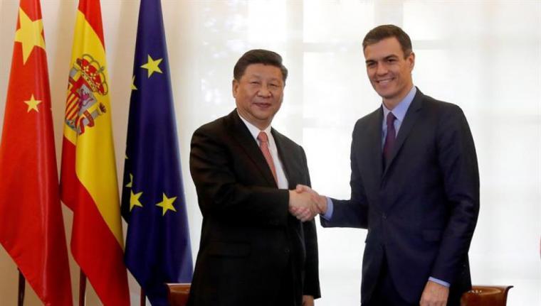 China se ofrece a trabajar con España para vencer al coronavirus