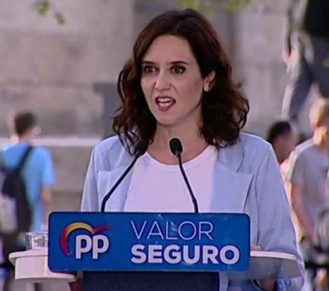 La Asociación para la Defensa de la Sanidad Pública responde a la presidenta madrileña Díaz Ayuso